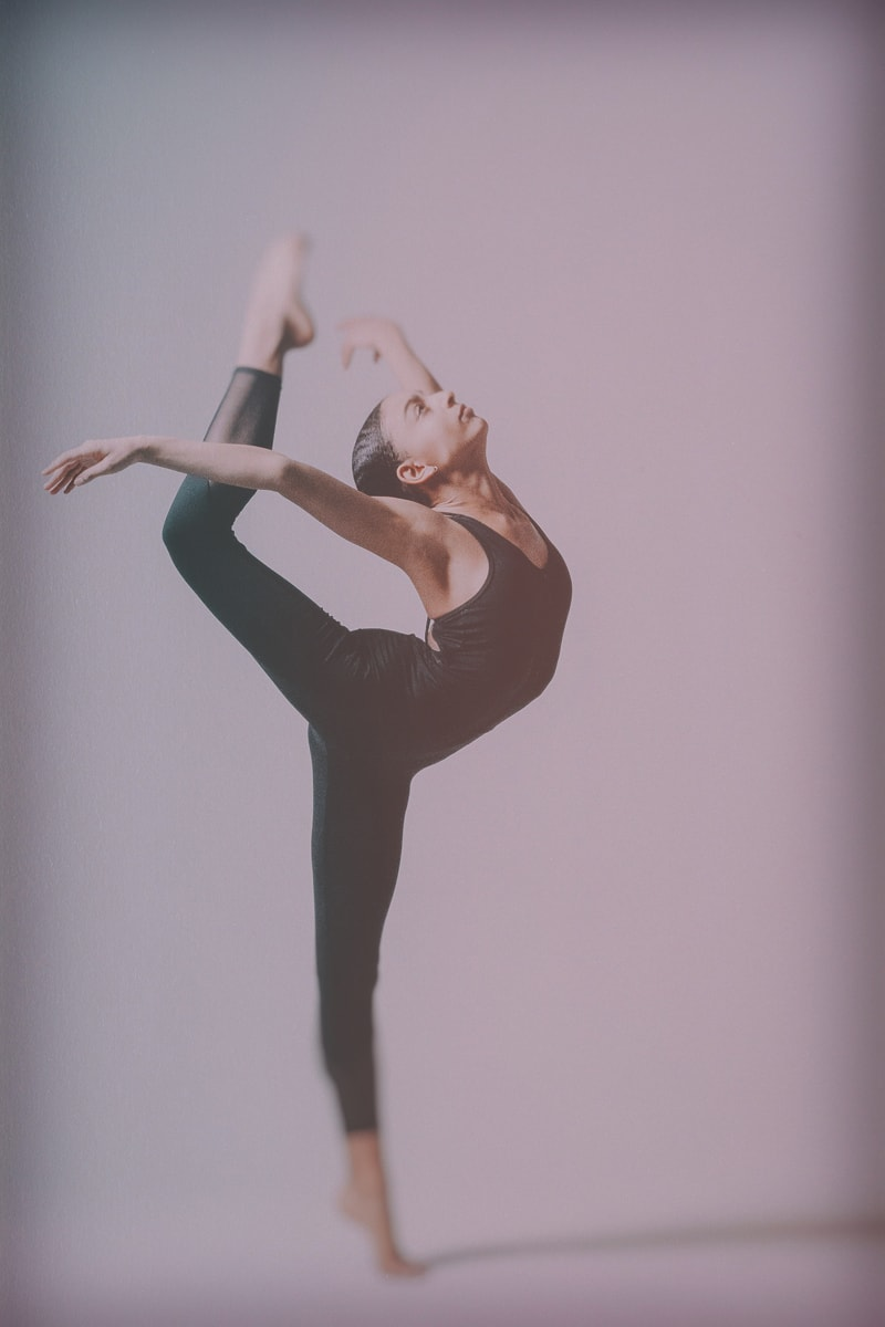 Denver Fine Art Photography, dancer in all black